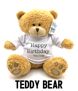 Happy Birthday You Cunt - Teddy Bear