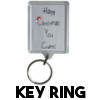 Happy Christmas You Cunt - Christmas Keyring