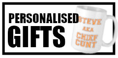 Personalised Cunt Gifts Button