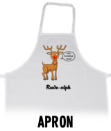 Rude-olph - Apron