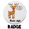 Rude-Olph - Badge