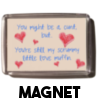 Scrummy Little Love Muffin - Magnet