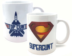 Top Cunt and Supercunt Mug Twin-Pack
