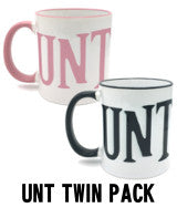 UNT Cunt Mug Twin Pack