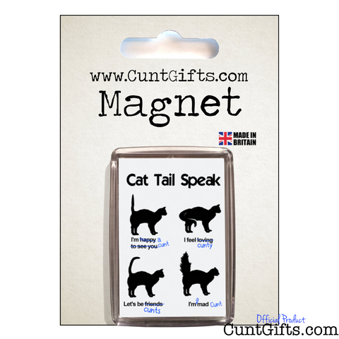 Cat Tail Speak - Magnet in Packaging