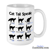 Cat Tail Speak Cunt - Mug