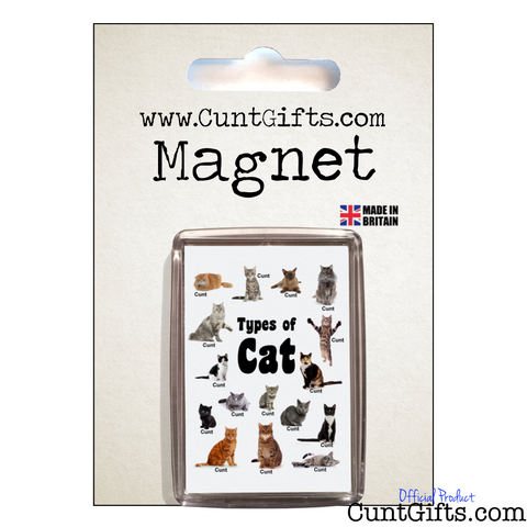 Cats Cunts - Magnet in Packaging