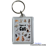 Cats Cunts Keyring