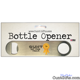 Cunt of the Year -  Bottle Opener in packaging