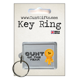 Cunt of the Year - Key ring in Packaging nl