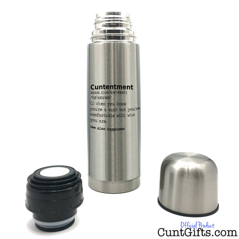Cuntentment - Thermo Flask