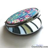 Flower Cunt Compact Mirror - Open