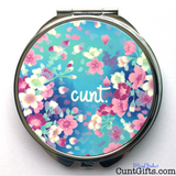 Flower Cunt Compact Mirror - Closed
