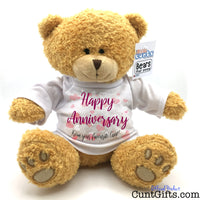 Happy Anniversary from your favourite cunt - Bear