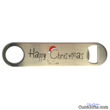 """Happy Christmas You Cunt"" - Bottle Opener"
