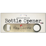 Happy Christmas You Cunt - Bottle Opener in Packaging nl