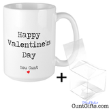 Happy Valentines Day You Cunt - Mug and Gift Box