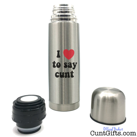 I Love To Say Cunt - Flask