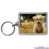 """Little Dog Cunt"" - Keyring"