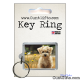 Little Dog Cunt - Key Ring in Packaging