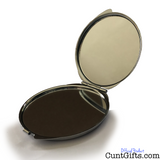 Charisma Uniqueness Nerve and Talent - Compact Mirror Open