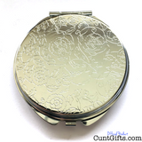 Charisma Uniqueness Nerve and Talent - Compact Mirror Back