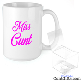 """Miss. Cunt"" - Mug & Gift Box"