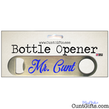 Mr Cunt - Bottle Opener - In Packaging