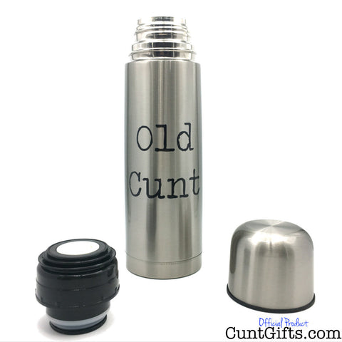 Old Cunt - Flask Cap Off Top Off 750ml
