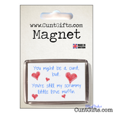 Scrummy Love Muffin - Magnet in Packaging