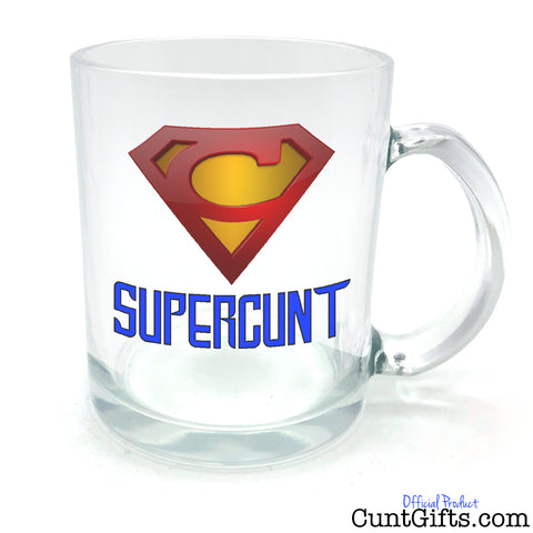 Supercunt - Half Pint Glass Tankard