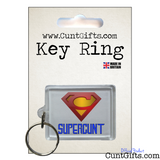 Supercunt - Key Ring in Packaging