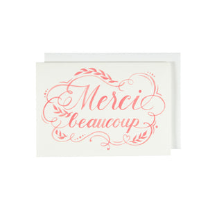 Merci Beaucoup - Thank You Card Set