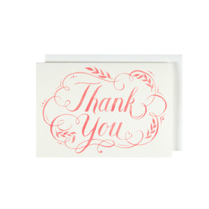 Flourish Thank You Card - Thank You Card Set