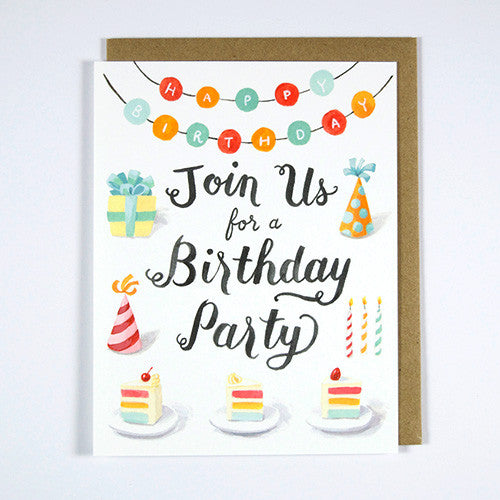 Have a Fun Birthday Party Invitation