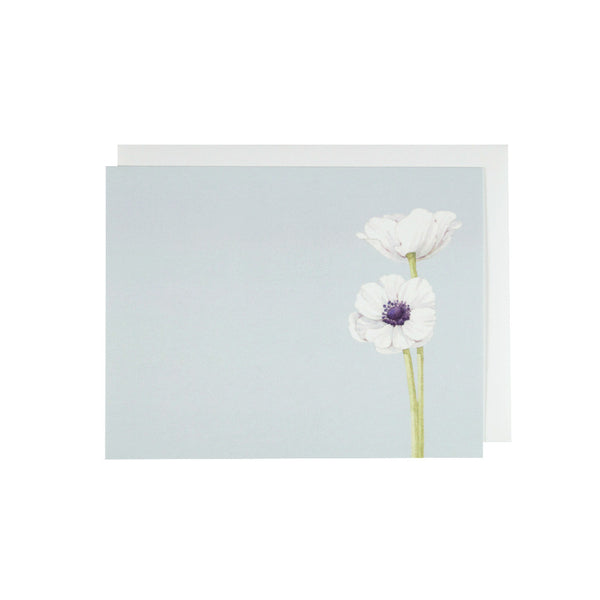 White Anemone Stationery sSet