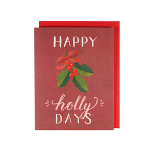 Happy Holly-days