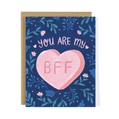 You Are My BFF Greeting Card