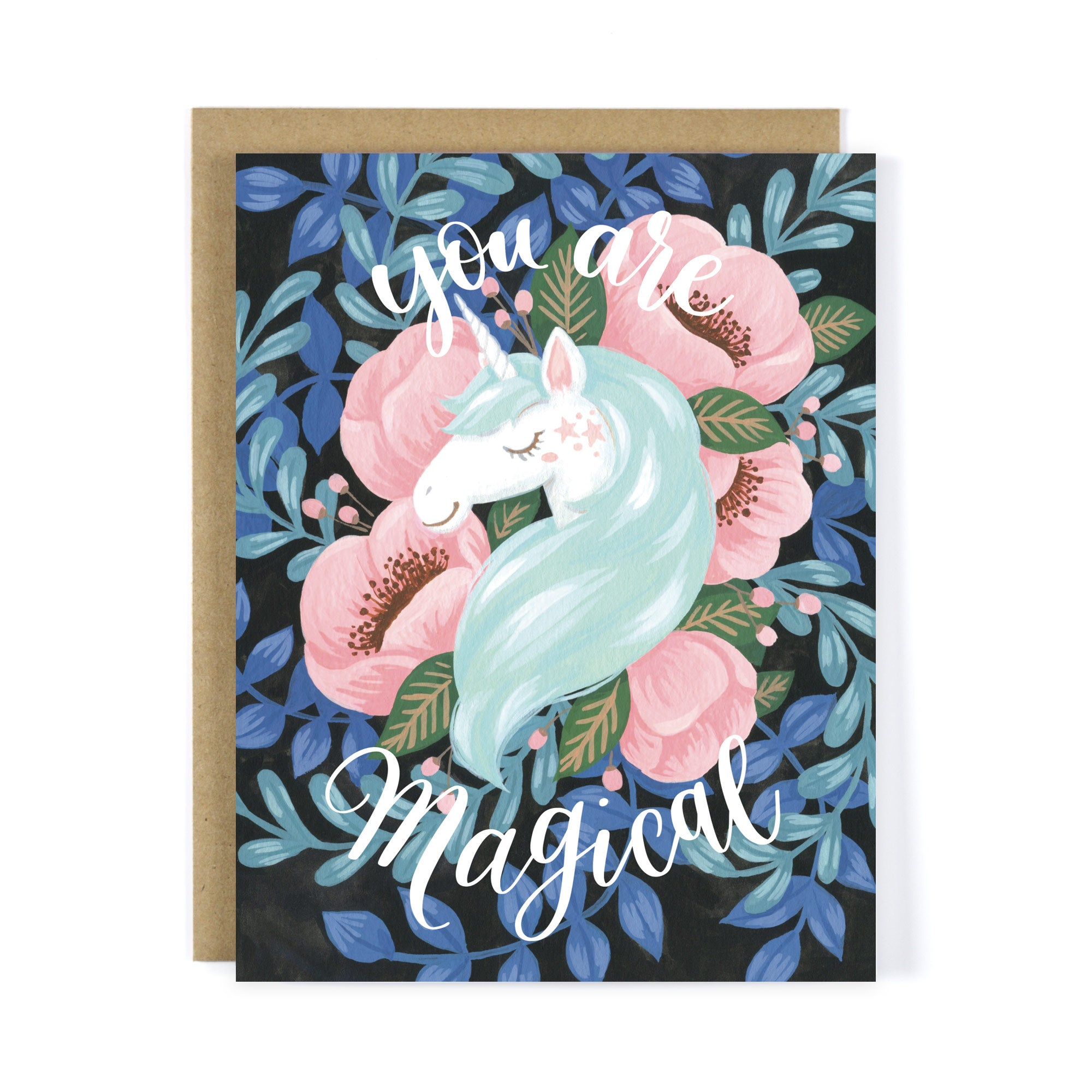 Unicorn - You're Magical greeting card