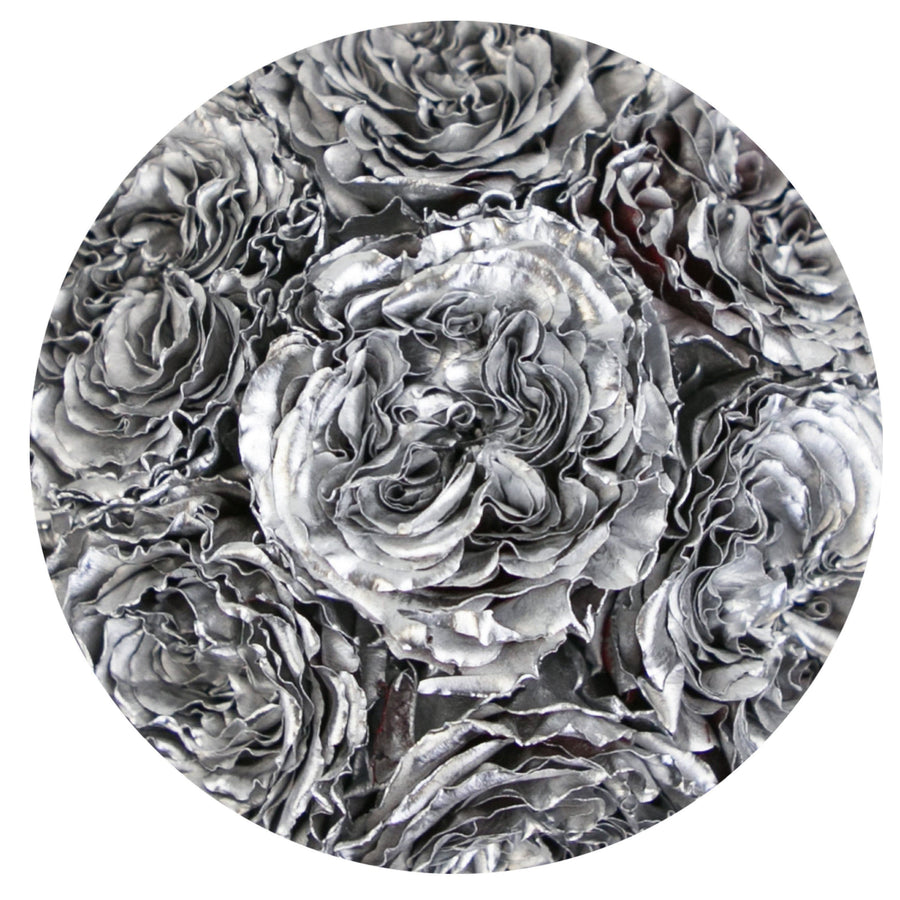 the million basic+ - mirror-silver box - silver celestial roses celestial roses - the million roses