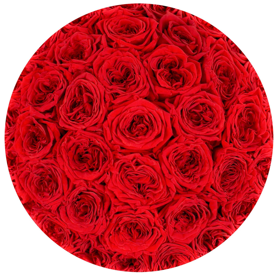 "the million roses medium round box - ""Love Collection"" limited edition ""heart"""
