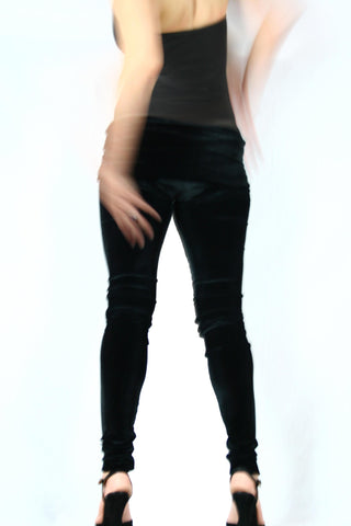 Velvet Goldmine Onyx Fashion Legging