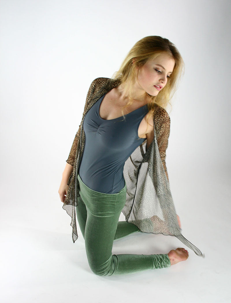 Velvet Goldmine Jade Fashion Legging