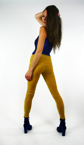 Velvet Goldmine Citrine Fashion Legging