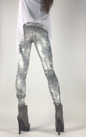 Diamond Dust Velvet Goldmine Legging