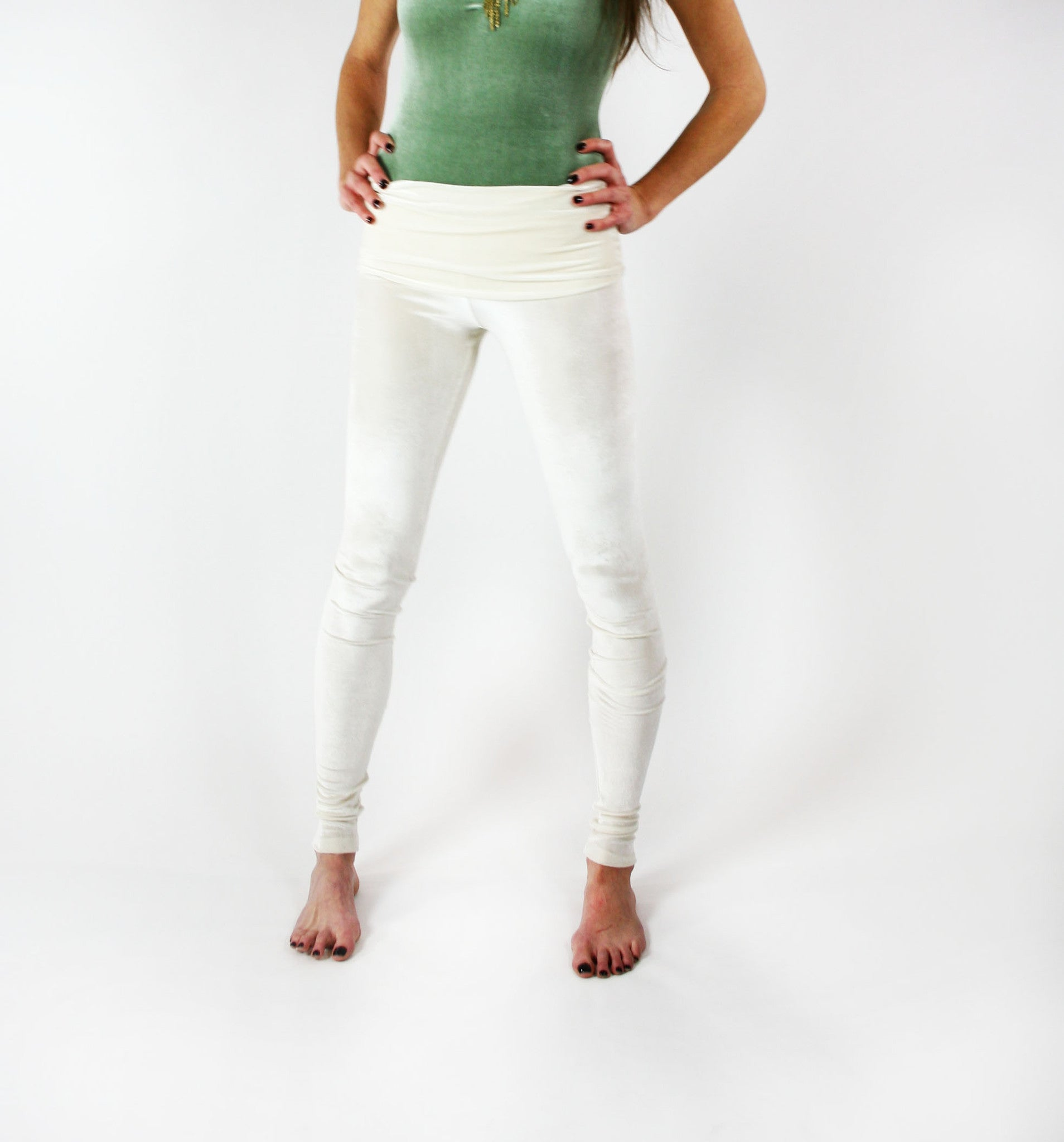 Velvet Goldmine Ivory Fashion Legging