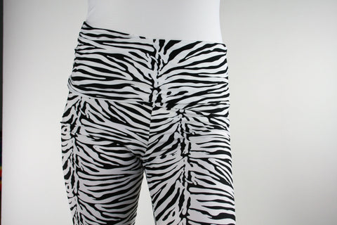 Beta Zebra Chic Fashion Legging
