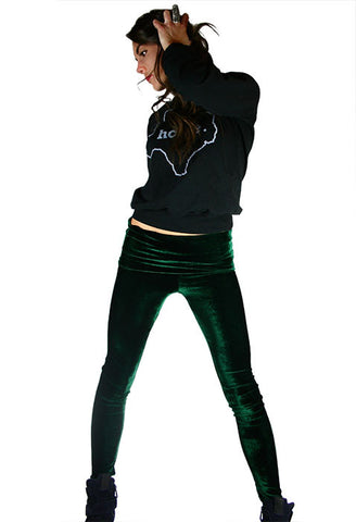 Velvet Goldmine Emerald Fashion Legging