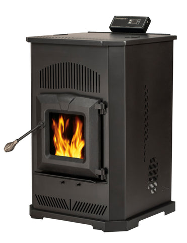 55-TRPCAB80S - EPA Certified Smart Pellet Stove - 2,000 sq. ft.