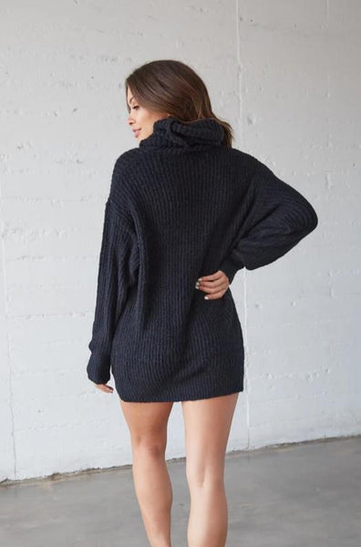 Fantasy Oversized Turtleneck Sweater